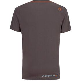 La Sportiva Square T-shirt Herr carbon